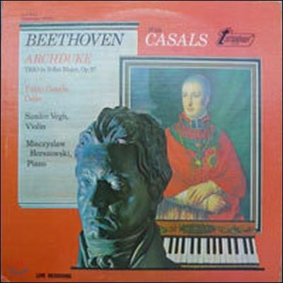 [중고] [LP] Casals, Vegh & Horszowski / Beethoven : Archduke Trio (수입/34411) - sr58