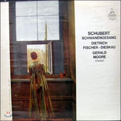 [중고] [LP] Gerald Moore - Pianist / Schubert : Schwanengesang, Dietrich, Fischer-Dieskau (수입/36127)