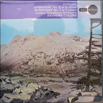 [중고] [LP] Anthony Collins / Sibelius : Symphony Nos.6 & 7 (수입/ecs603)