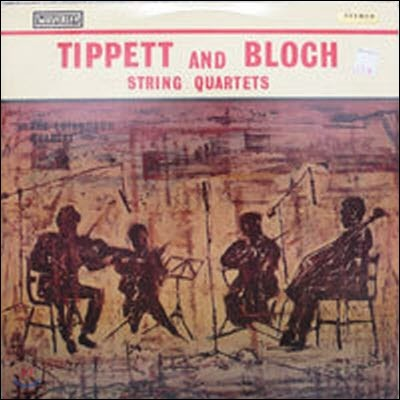 [중고] [LP] Edinburgh Quartet / Bloch, Tippett : String Quartets (수입/sllp1028)