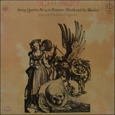 [중고] [LP] Habrieli Quatet / Schubert : String Quartet No.14 in D minor Op. Posth, Death and the maiden (수입/CFP171)