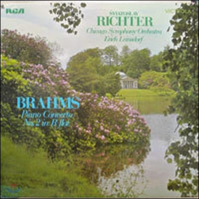 [중고] [LP] Sviatoslav Richter / Brahms : Piano Concerto No.2 in B flat (수입/vics1563) - sr210
