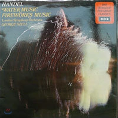 [중고] [LP] George Szell / Handel : Water Music, Fireworks Music (수입/spa120)