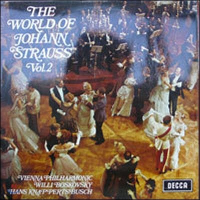 [중고] [LP] Hans Knappertsbusch / The World of Johann Strauss Vol.2 (수입/spa73)