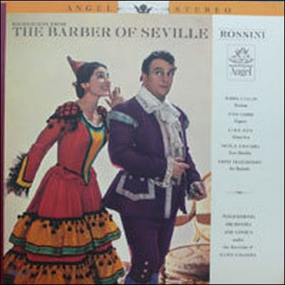 [중고] [LP] Maria Callas, Tito Gobbi / Rossini : The Barber of Seville - Highlights from (수입/s35936) - sr229