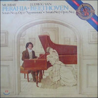 [중고] [LP] Murray Perahia / Beethoven : Sonata No.23, Op.57 `Appassionata` & Sonata No.7 (수입/im39344)