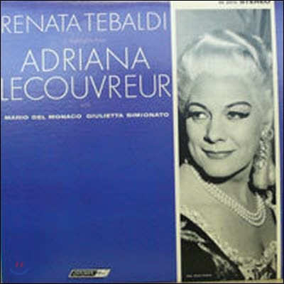 [중고] [LP] Renata Tebaldi / in Hightlights from Adriana Lecouvreur (수입/os25715) - sr237