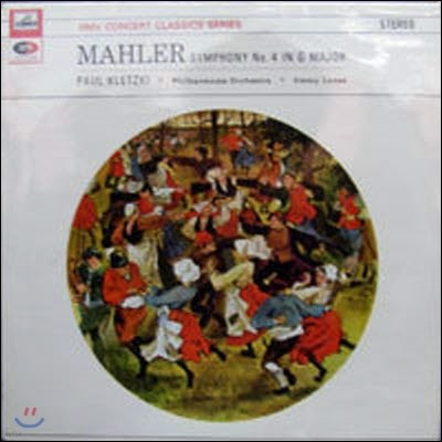 [중고] [LP] Paul Kletzki-Philharmonia Orch. / Mahler: Symphony No.4 in G Major (수입/SXLP30054)