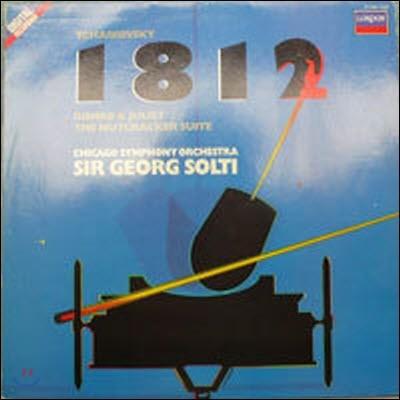 [중고] [LP] Sir Georg Solti / Tchaikovsky : 1812, Romeo & Joliet, etc. (수입/4174001) - sr272