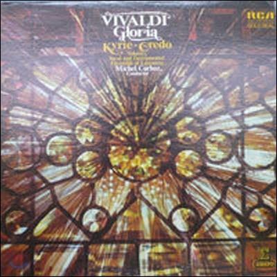 [중고] [LP] Michel Corboz / Vivaldi : Gloria, Kyrie, Cerdo (수입/agl11340)