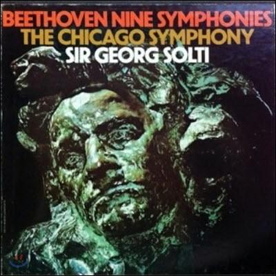 [중고] [LP] Georg Solti / Beethoven : Nine Symphonies (9LP/수입/하드박스/705667)
