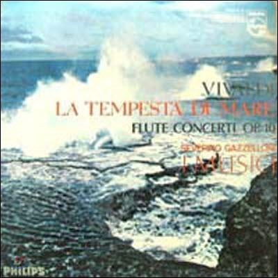 [중고] [LP] Severino Gazzelloni, I Musici / Vivaldi : Flute Concert Op.10 La Tempesta Di Mare (SEL100105)