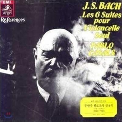 [중고] [LP] Pablo Casals / Bach: Les 6 Suites Pour Violoncelle Seul (3LP BOX SET/1008923)