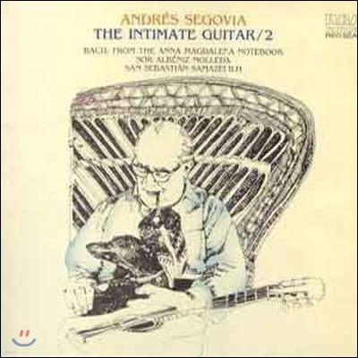 [중고] [LP] Andres Segovia / The Intimate Guitar 2 (SRCR022)
