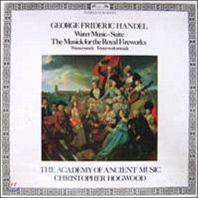 [중고] [LP] Christopher Hogwood / Handel: Water Music-Suite, The Musick for Royal Fireworks (SELRD535)
