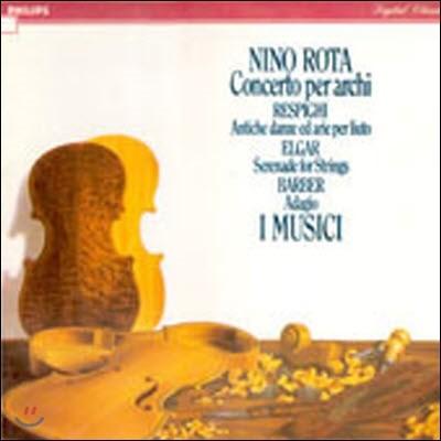 [중고] [LP] I Musici / Nino Rota, Respighi, Elgar, Barber (selrp1103)