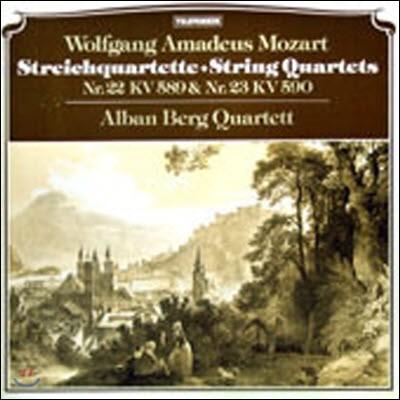 [중고] [LP] ALBAN BERG QUARTETT / MOZART : STRING QUARTETS (stcr005)