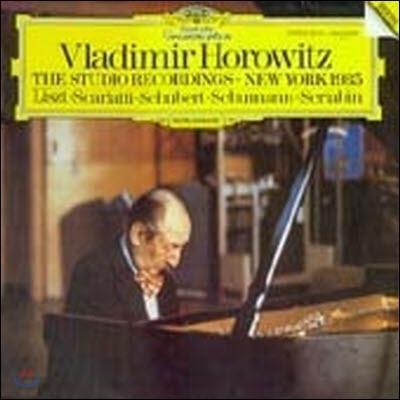 [중고] [LP] Vladimir Horowitz / The Studio Recordings - New York 1985 (selrg833)