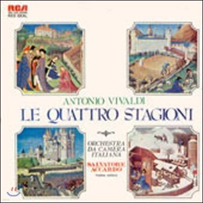 [중고] [LP] Salvatore Accardo / Vivaldi : Le Quattro Stagioni - The Four Seasons (jrcl9065)