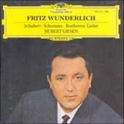 [중고] [LP] Fritz Wunderlich / Lieder Von Beethoven, Schubert Und Schumann (sel200225)
