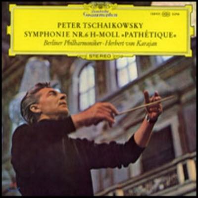 """[중고] [LP] Herbert Von Karajan / Tchaikovsky : Symphonie Nr.6 """"Pathetique"""" (sel200129)"""
