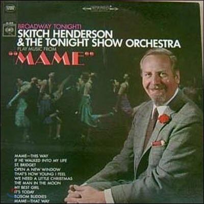 """[중고] [LP] Skitch Henderson & The Tonight Show Orchestra / """"MAME"""" (수입/cl2518)"""
