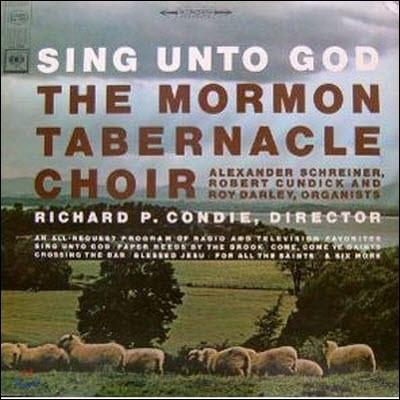 [중고] [LP] Richard P. Condie / Sing Unto God, The Mormon Tabernacle Choir (수입/ms6908)