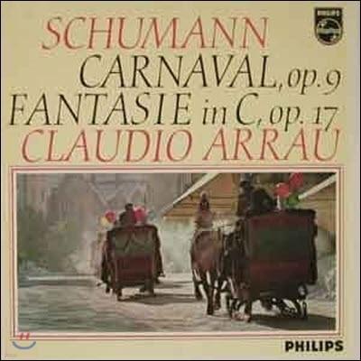 [중고] [LP] Claudio Arrau / Schumann : Carnaval, op.9, Fantasie C-dur, op.17 (802746ly)