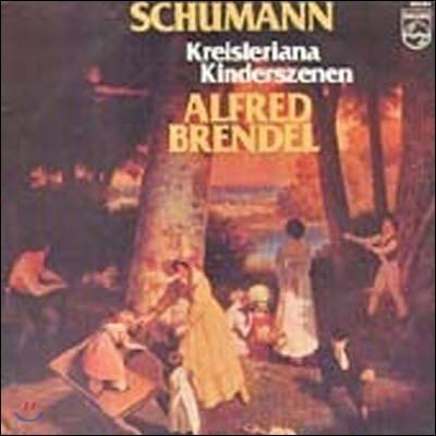 [중고] [LP] Alfred Brendel / Schumann : Kreisleriana, Kinderszenen (수입/9500964)