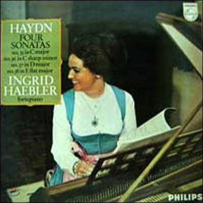 [중고] [LP] Ingrid Haebler / Haydn : Four Sonatas - No.35, 36, 37, 38 (sel100358)