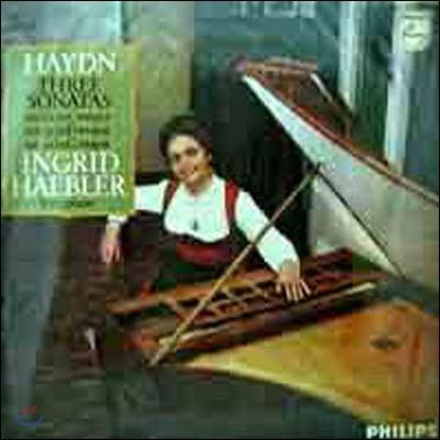 [중고] [LP] Ingrid Haebler / Haydn : Three Sonatas - No.20, 33, 39 (sel100337)