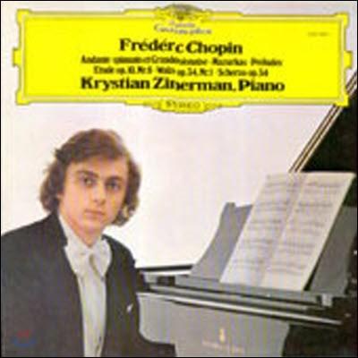 [중고] [LP] Krystian Zimerman / Chopin : Klavierwerke (sel200223)