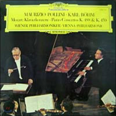 [중고] [LP] Maurizio Pollini, Karl Bohm / Mozart : Klavierkonzerte K.488 & 459 (sel200285)