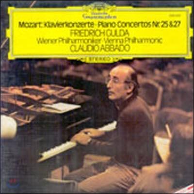 [중고] [LP] Friedrich Gulda, Claudio Abbado / Mozart : Piano Concerto No.25 & 27 (sel200316)