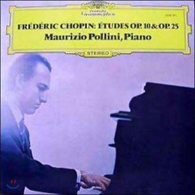 [중고] [LP] Maurizio Pollini / Chopin : Etudes Op.10 & Op.25 (sel200136)