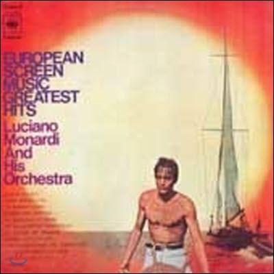 [중고] [LP] Luciano Monardi & His Orchestra / European Screen Music Greatest Hits (kjpl0003)