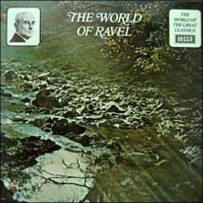 [중고] [LP] V.A. / The World Of The Great Classics: The World Of Ravel (sel0304)