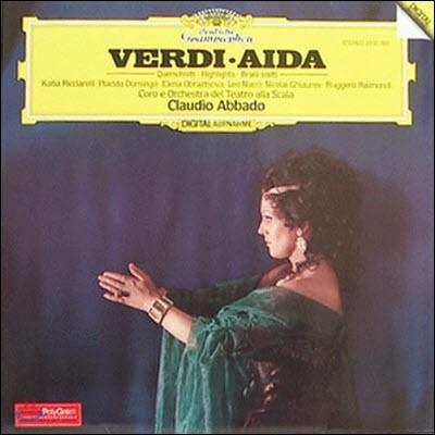 [중고] [LP] Claudio Abbado / Verdi: Aida Querschnitt, Highlights, Brani Scelti (수입/2532092)