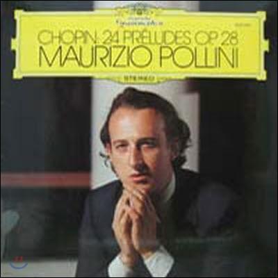 [중고] [LP] Maurizio Pollini / Chopin : 24 Preludes Op.28 (일본수입/mg2504)