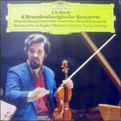 [중고] [LP] Pinchas Zukerman / Bach : 6 Brandenburgisches Konzert (수입/2LP/2707098))
