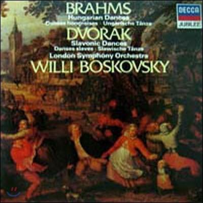 [중고] [LP] Willi Boskovsky / Brahms : Hungarian Dances, Dvorak : Slavonic Dances (selrd5568)