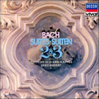 [중고] [LP] Ernest Ansermet / Bach : Suites 2 & 3 (selrd527)