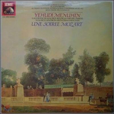 [중고][LP] Yehudi Menuhin / Une Soiree Mozart (수입/c06502820)