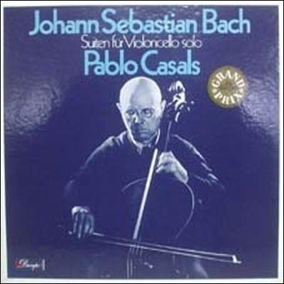 [중고] [LP] Pablo Casals 바흐: 무반주 첼로 모음곡 (Bach: Suites for Cello Solo) (수입/3LP/Box Set/1008923)