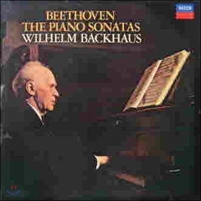 [중고] [LP] Wilhelm Backhaus / Beethoven : The Piano Sonatas (10LP/Box Set/sxla645261)