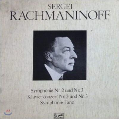 [중고] [LP] Sergei Rachmaninoff / Symphonie Nr. 2 Und Nr. 3, Kalvierkonzert Nr. 2 Und Nr. 3, Symphonie Tanz (6LP/Box Set/158815)
