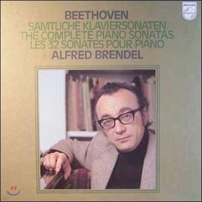 [중고] [LP] Alfred Brendel 베토벤: 피아노 소나타 전곡 (Beethoven: Complete Piano Sonatas) (수입/13LP/Box Set/6768004)