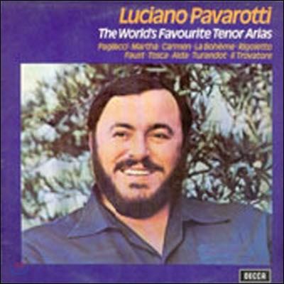 [중고] [LP] Luciano Pavarotti / The World's Favourite Tenor Arias  (sel0285)