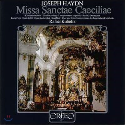 [LP] Rafael Kubelik / Haydn: Missa Sanctae Caeciliae (2LP/수입/미개봉/s032822)