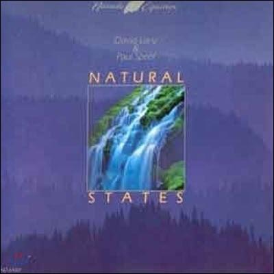 [중고] [LP] David Lanz, Paul Speer / Natural States (snpr004)